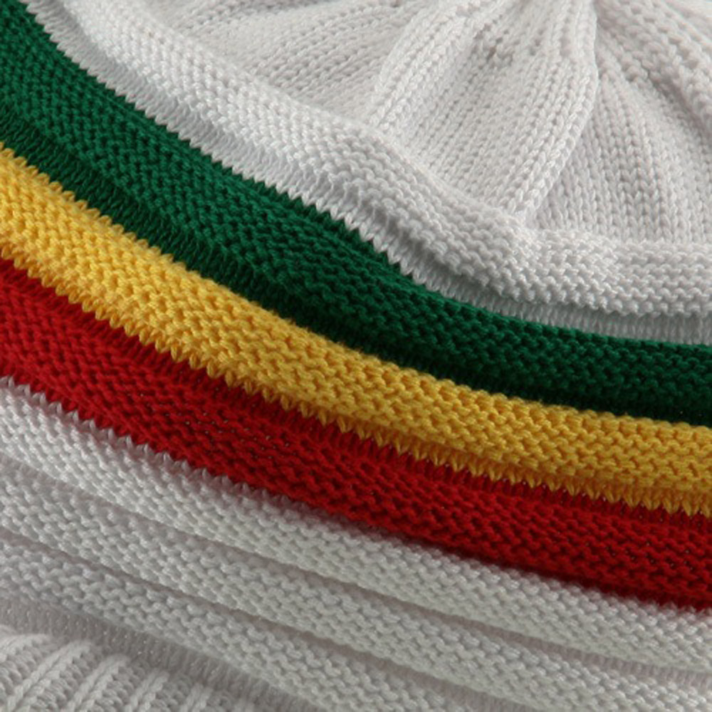 Slinky Rasta 97 RGY Visor Hat - White RGY - Hats and Caps Online Shop - Hip Head Gear