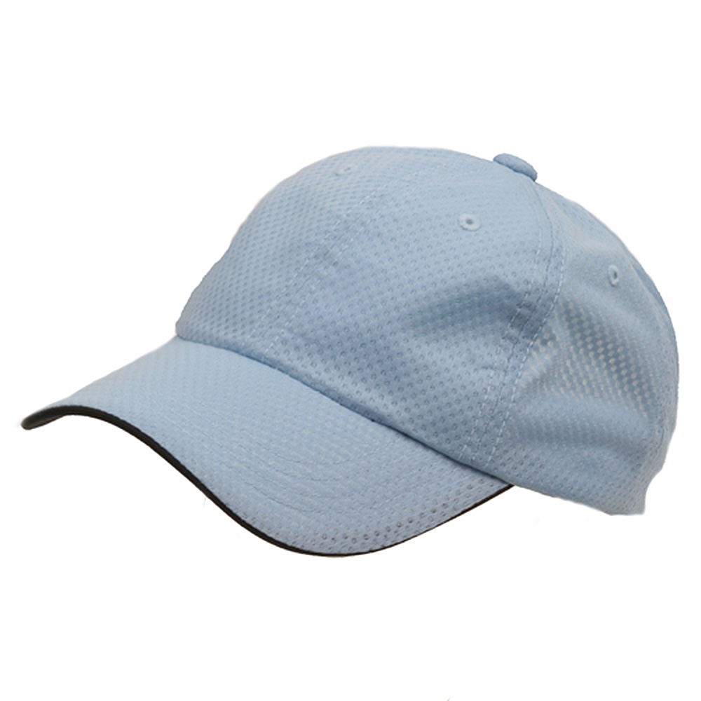 6 Panel Athletic Mesh Cap-Blue - Hats and Caps Online Shop - Hip Head Gear