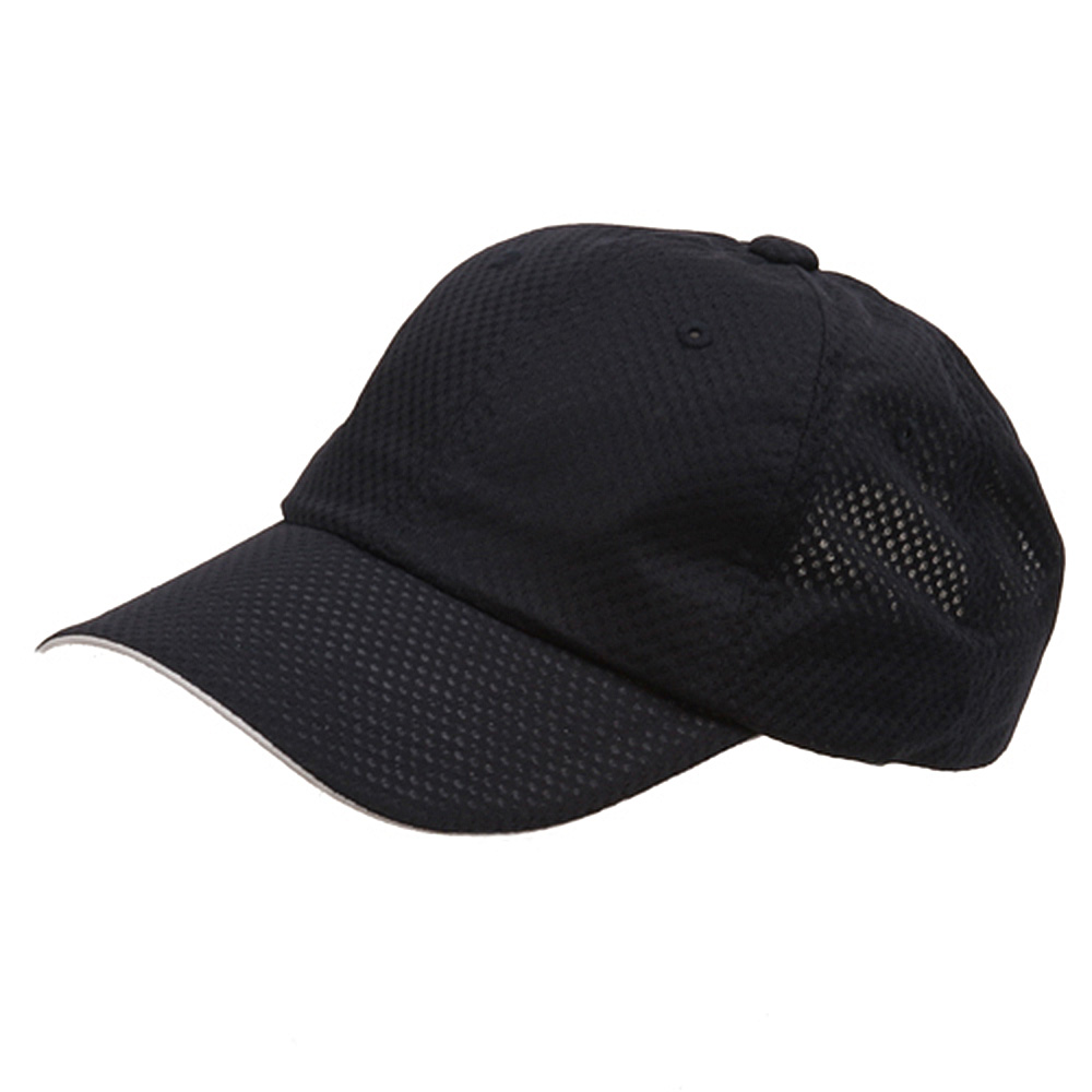 6 Panel Athletic Mesh Cap-Navy - Hats and Caps Online Shop - Hip Head Gear