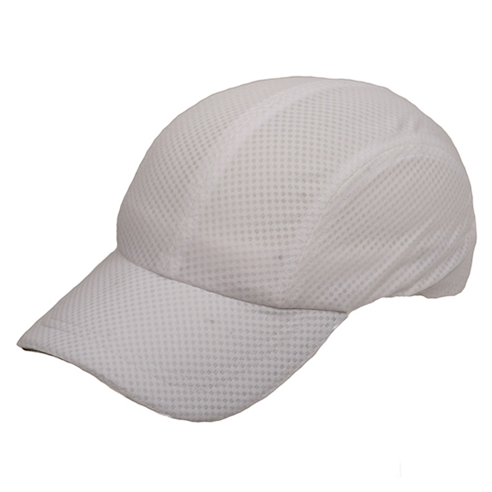 4 Panel Athletic Mesh Cap-White - Hats and Caps Online Shop - Hip Head Gear