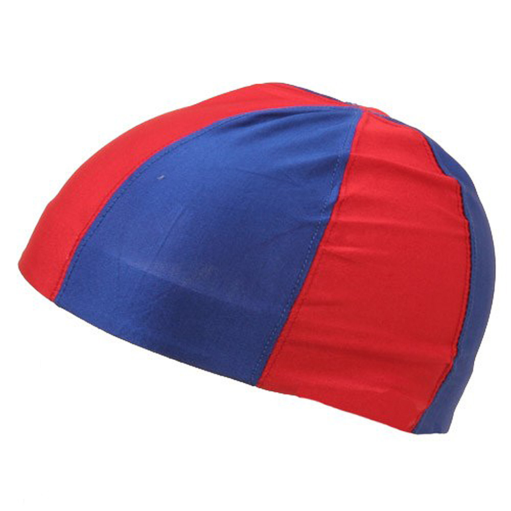 Color Block Pin wheel Dome Caps-Red Royal - Hats and Caps Online Shop - Hip Head Gear