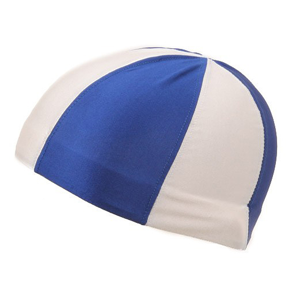 Color Block Pin wheel Dome Caps-White Royal - Hats and Caps Online Shop - Hip Head Gear