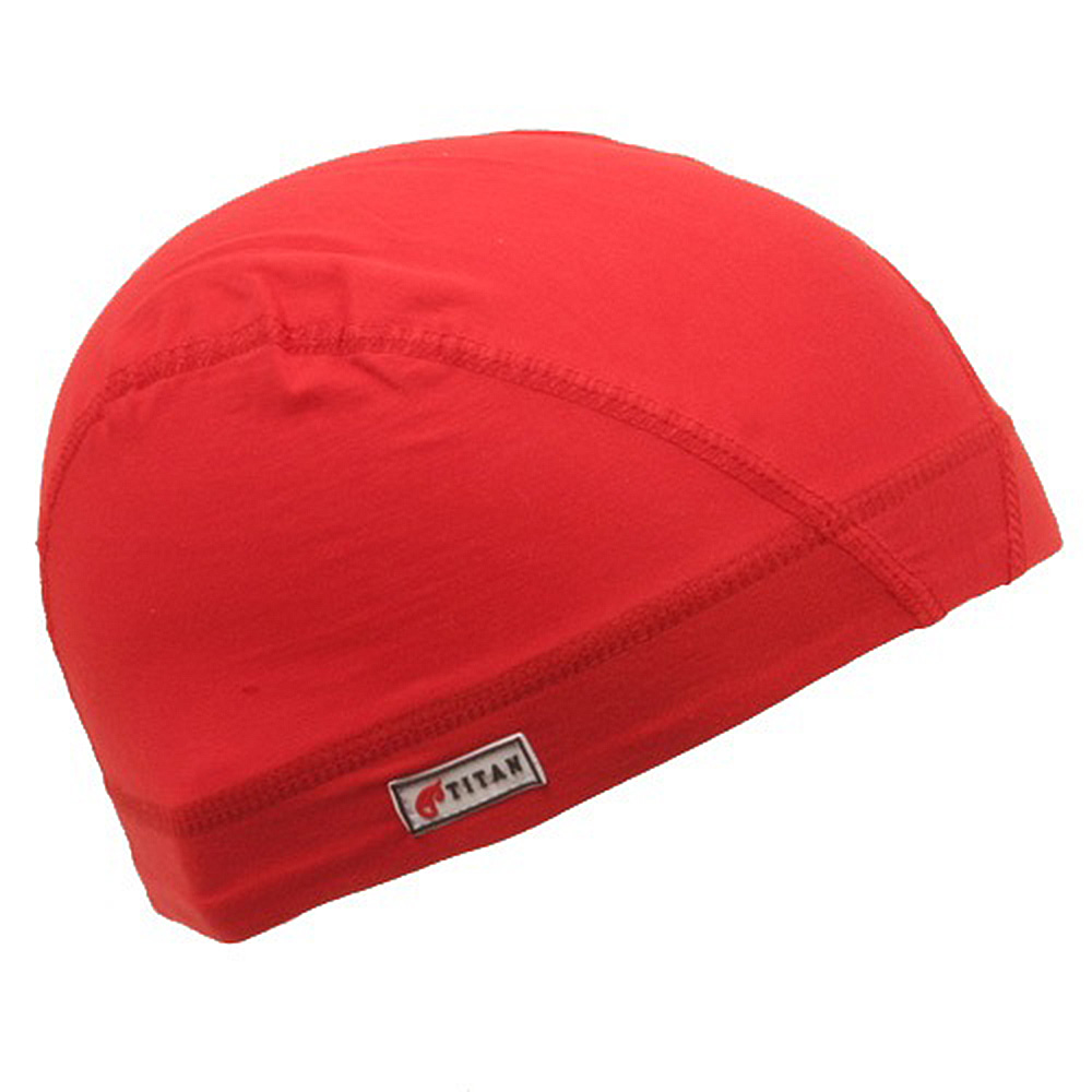 Cotton Spandex Dome Cap-Red - Hats and Caps Online Shop - Hip Head Gear