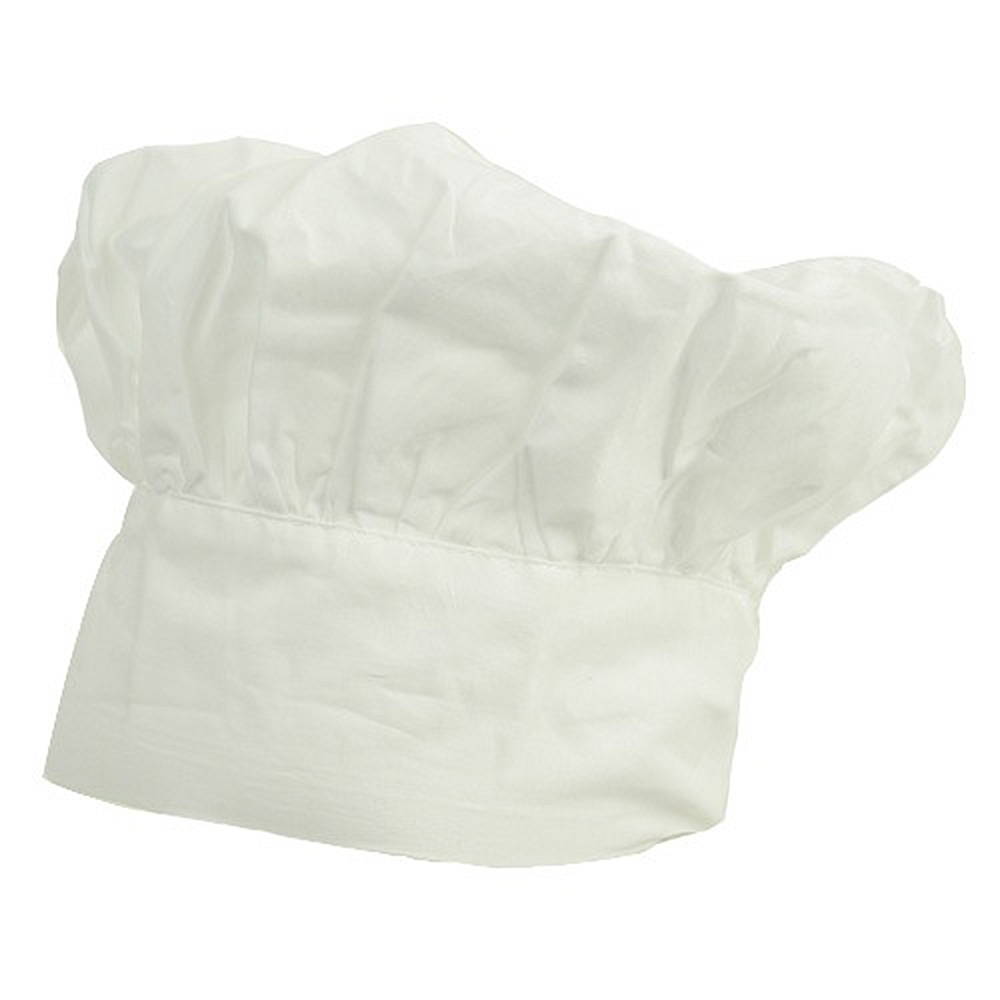 Chef Hat-White - Hats and Caps Online Shop - Hip Head Gear