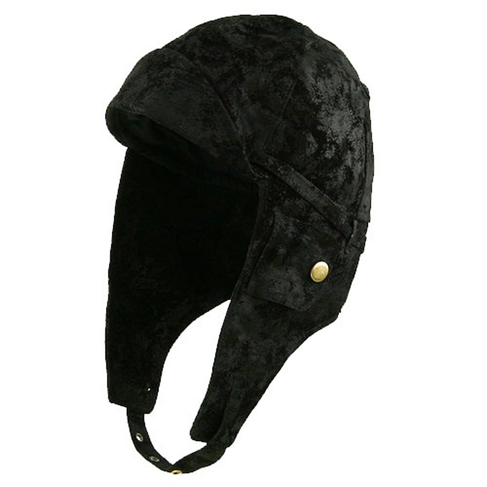 Aviator Hat - Black - Hats and Caps Online Shop - Hip Head Gear