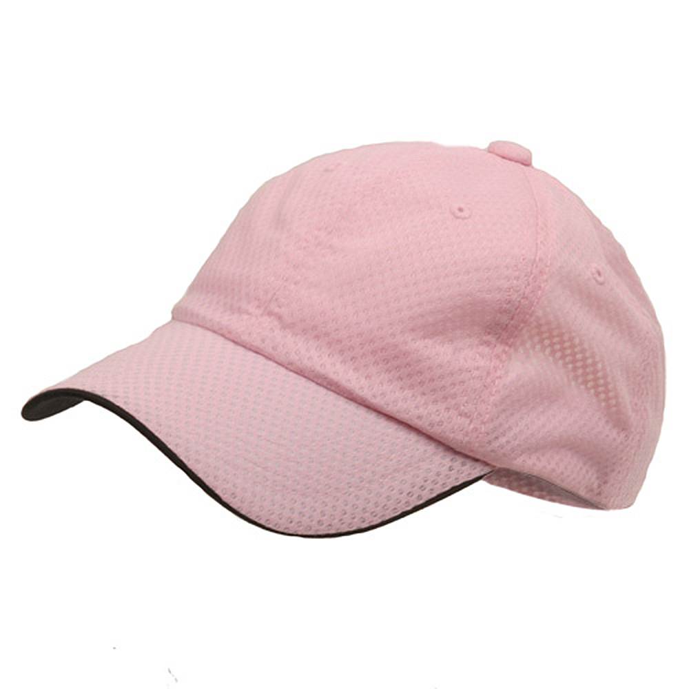 6 Panel Athletic Mesh Cap-Pink - Hats and Caps Online Shop - Hip Head Gear