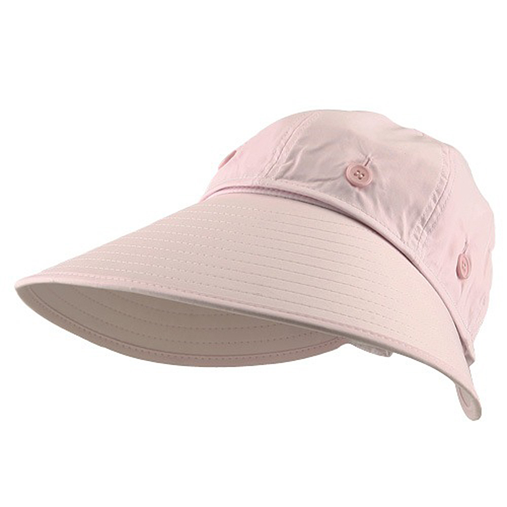 Convertible Crown UV Protection Hat - Pink - Hats and Caps Online Shop - Hip Head Gear