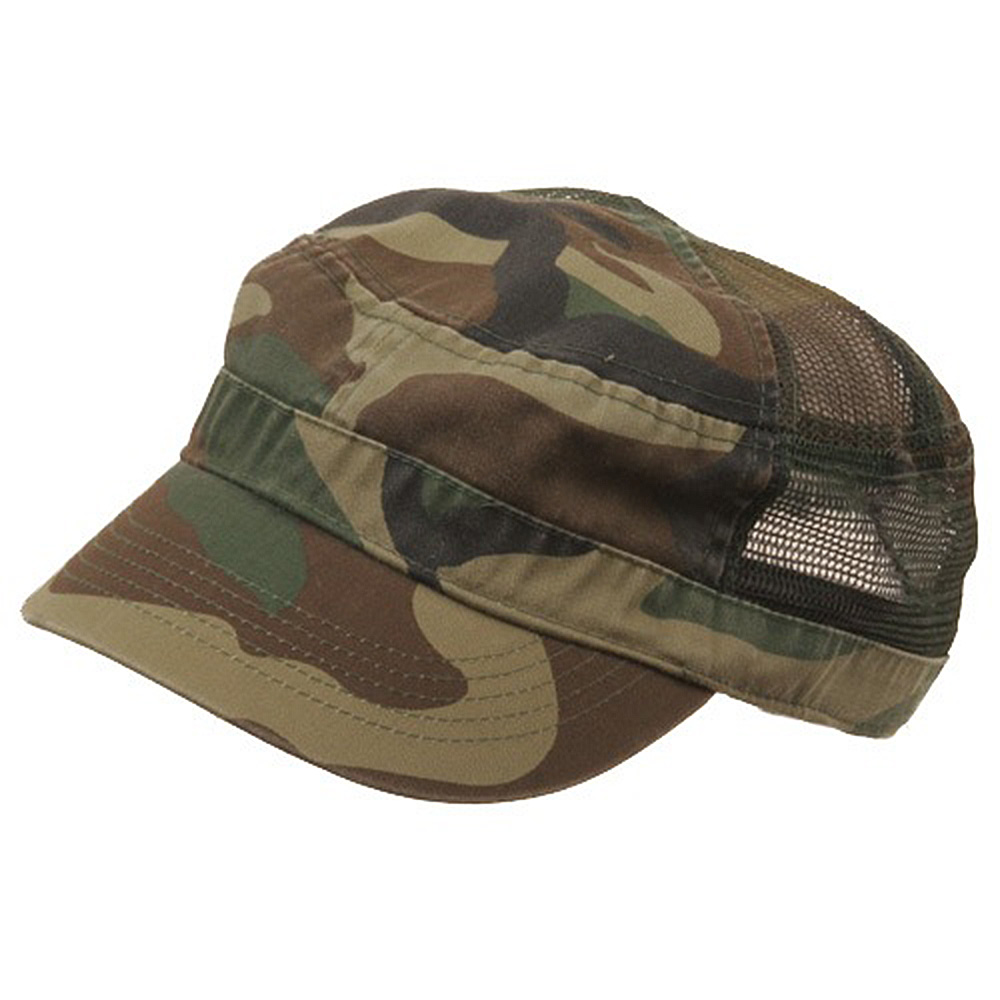 Enzyme Mesh Army Cap-Camo - Hats and Caps Online Shop - Hip Head Gear