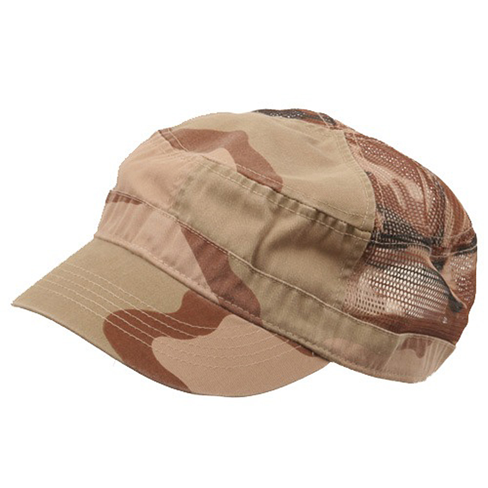 Enzyme Mesh Army Cap-Desert - Hats and Caps Online Shop - Hip Head Gear