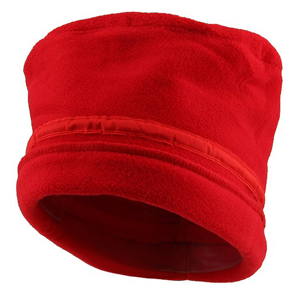 Banded Fleece Winter Cap-Red - Hats and Caps Online Shop - Hip Head Gear