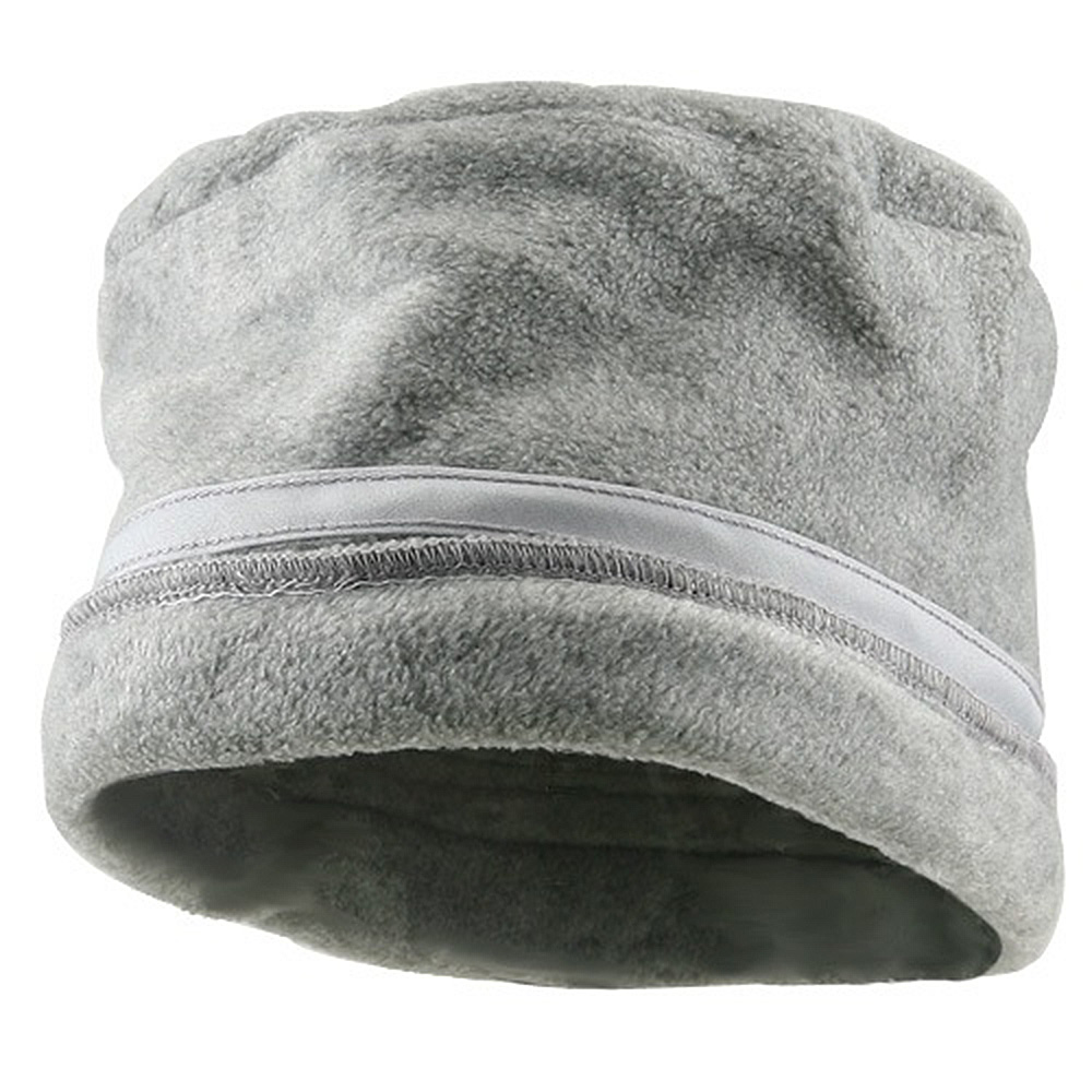 Banded Fleece Winter Cap-Grey - Hats and Caps Online Shop - Hip Head Gear