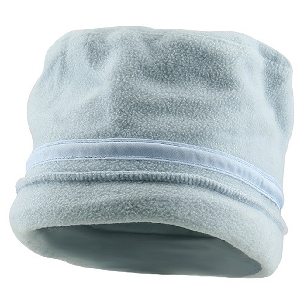 Banded Fleece Winter Cap-Light Blue - Hats and Caps Online Shop - Hip Head Gear