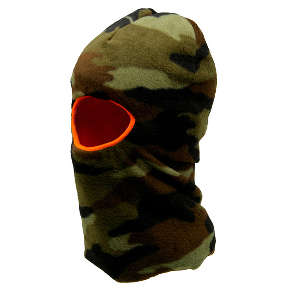 One Hole Fleece Reversible Mask - Camo - Hats and Caps Online Shop - Hip Head Gear