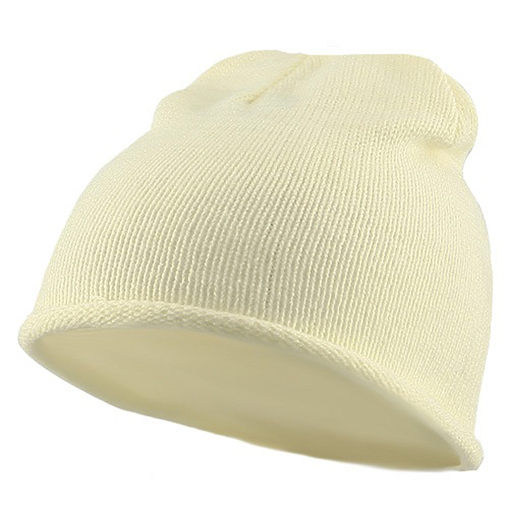Children Knitting Hat - Cream - Hats and Caps Online Shop - Hip Head Gear