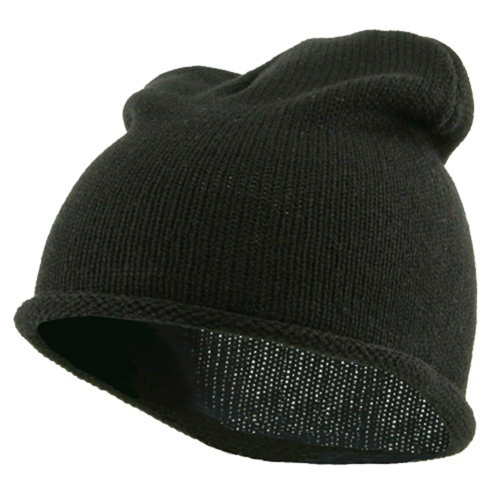 Children Knitting Hat - Black - Hats and Caps Online Shop - Hip Head Gear