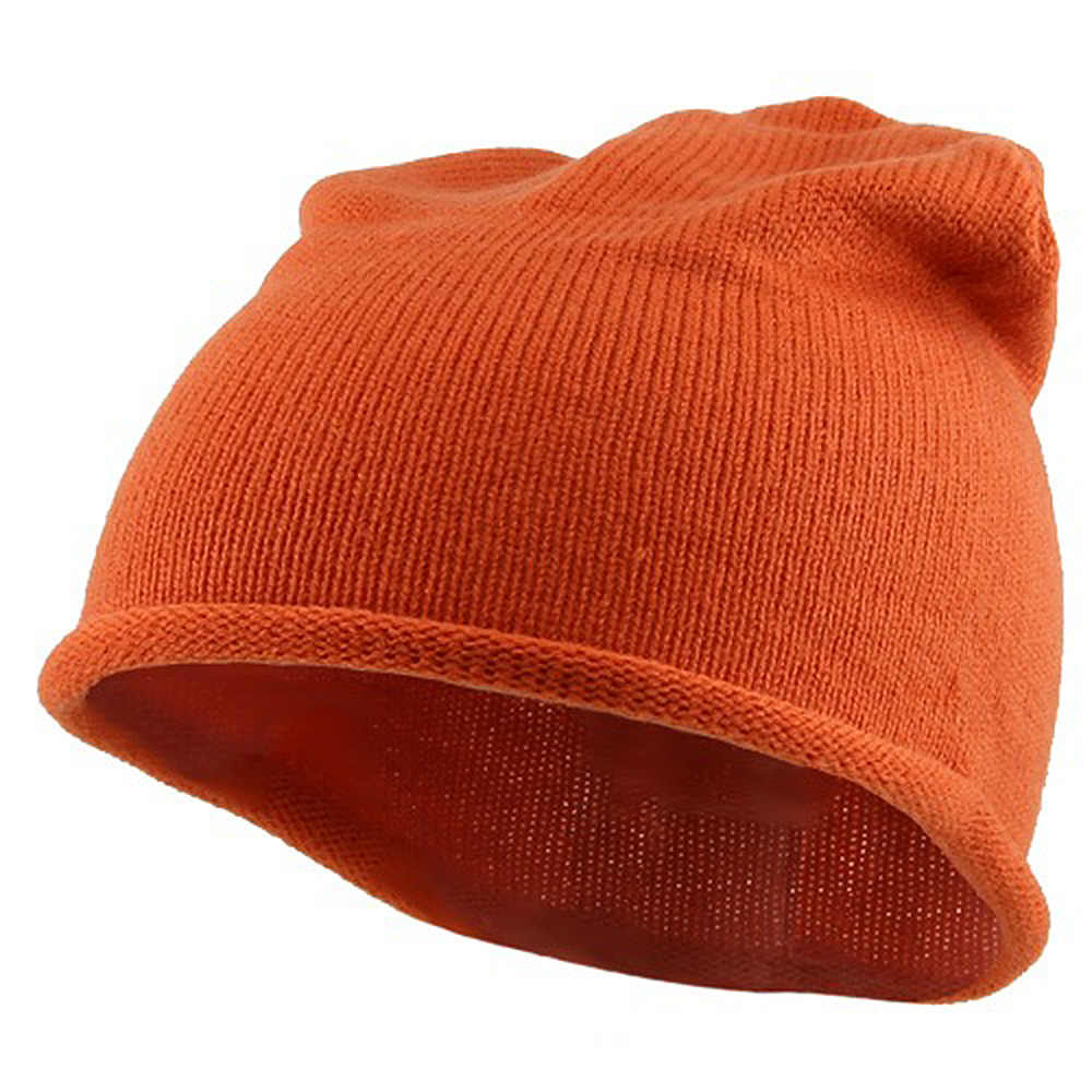 Children Knitting Hat - Orange - Hats and Caps Online Shop - Hip Head Gear