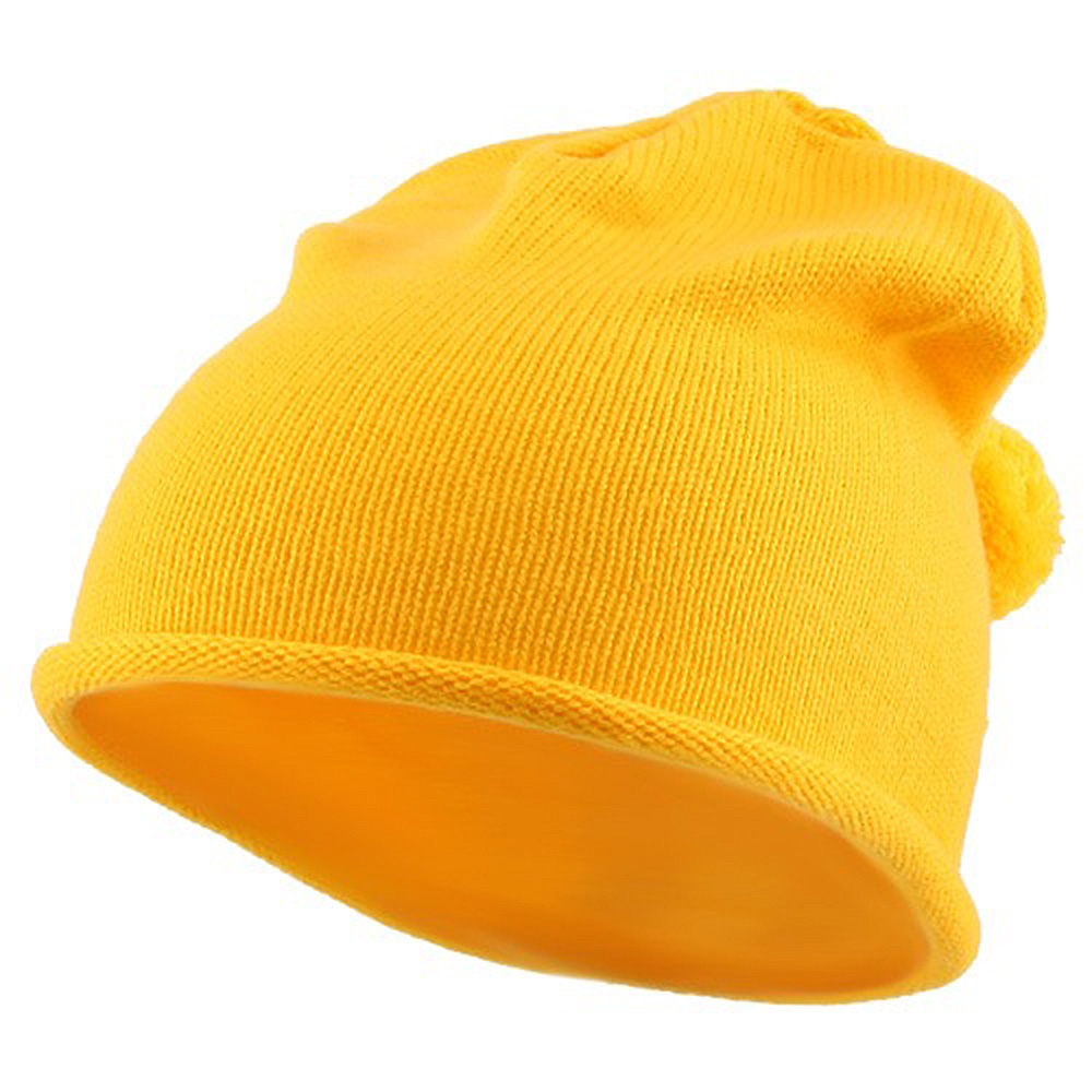 Children Knitting Hat - Gold - Hats and Caps Online Shop - Hip Head Gear