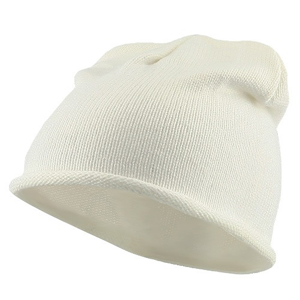 Children Knitting Hat - Light White - Hats and Caps Online Shop - Hip Head Gear