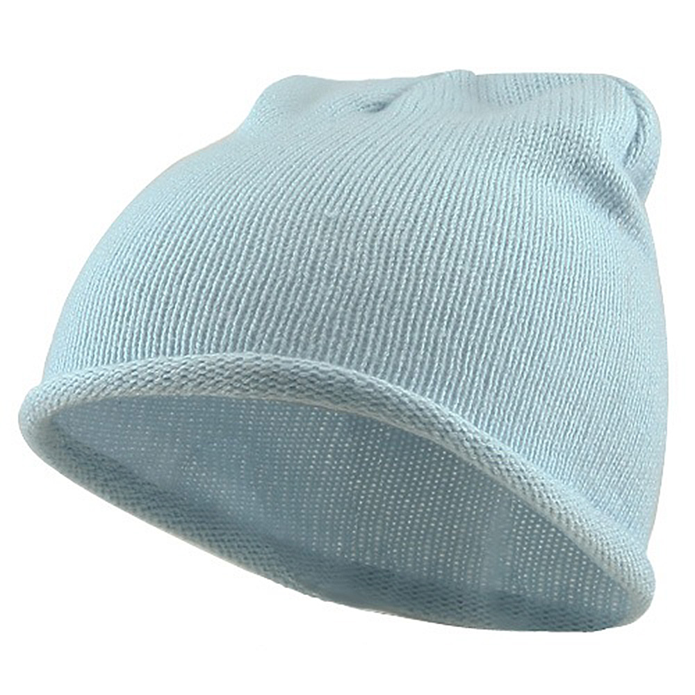 Children Knitting Hat - Light Blue - Hats and Caps Online Shop - Hip Head Gear