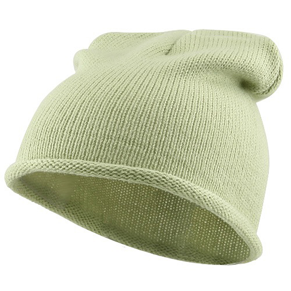 Children Knitting Hat - Light Green - Hats and Caps Online Shop - Hip Head Gear