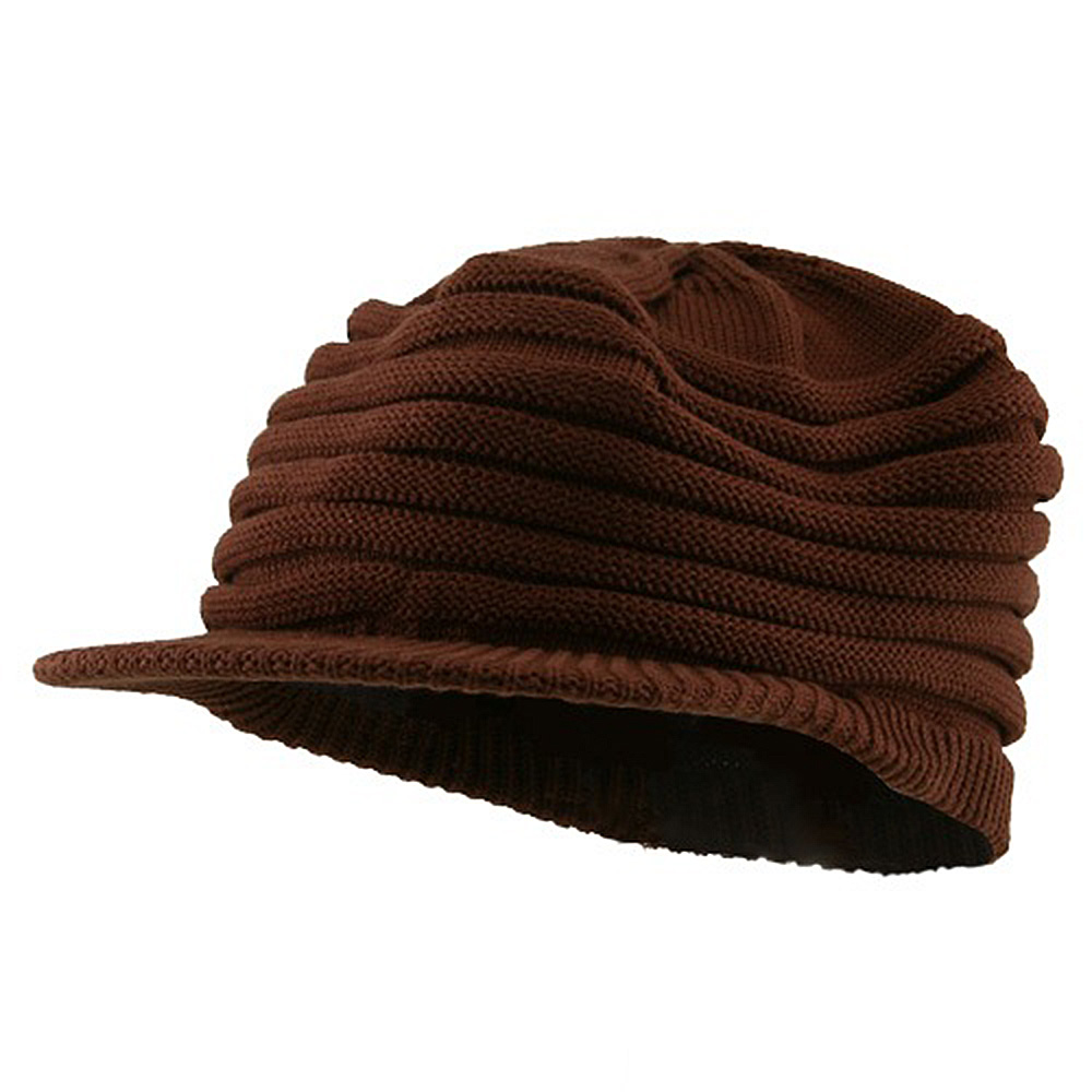 Slinky Rasta 97 RGY Visor Hat - Brown - Hats and Caps Online Shop - Hip Head Gear