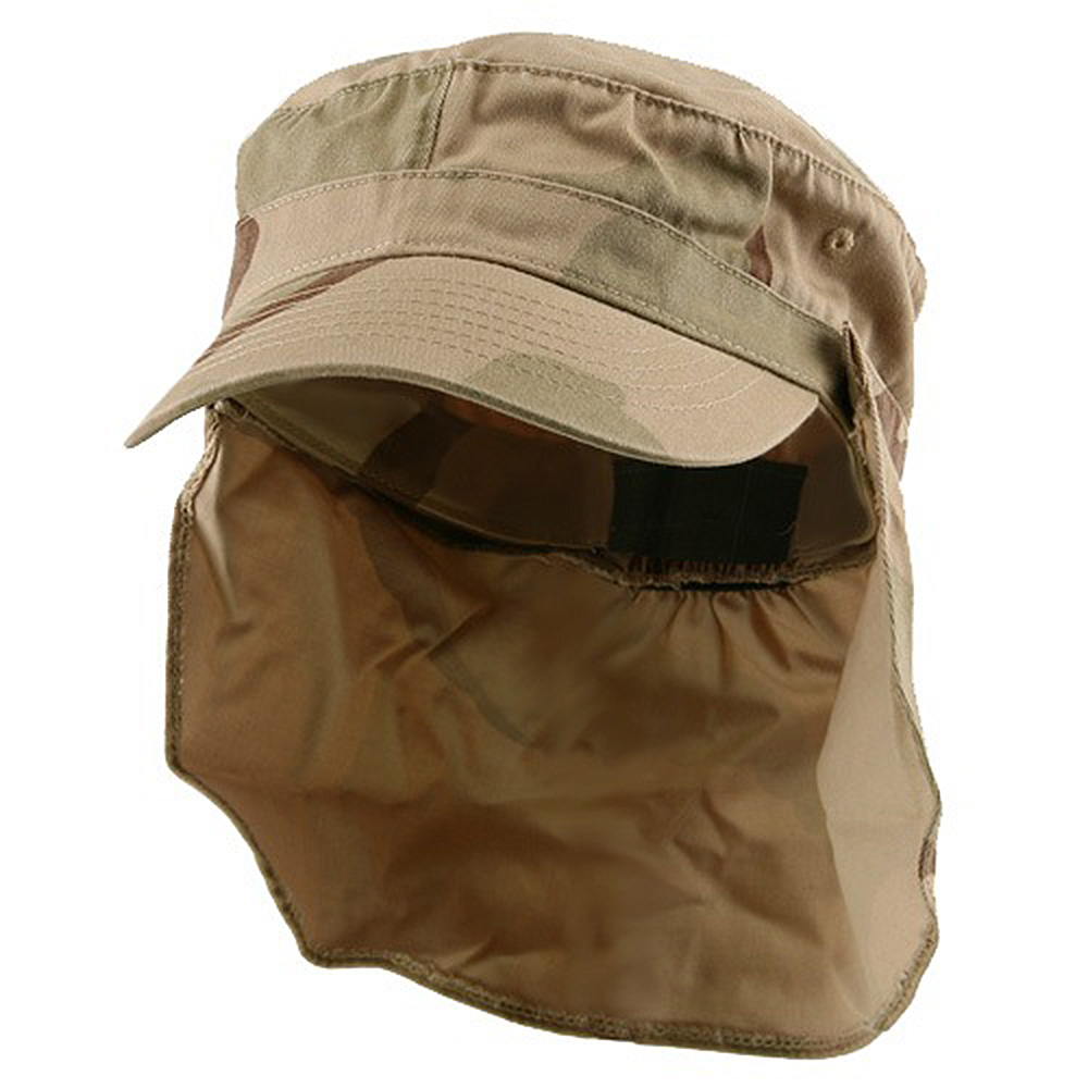 Army Cap with Flap-New Desert - Hats and Caps Online Shop - Hip Head Gear