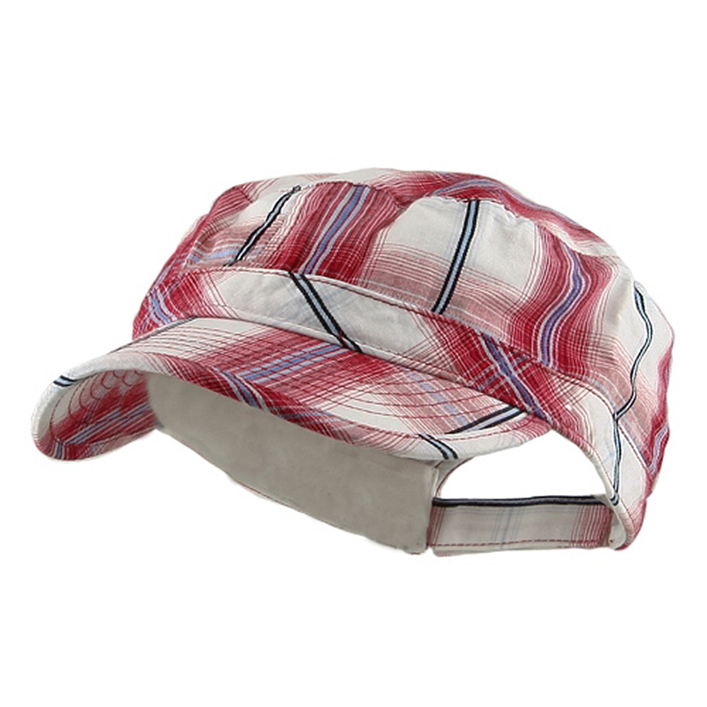 Twill Fashion Engineer Cap-Red - Hats and Caps Online Shop - Hip Head Gear