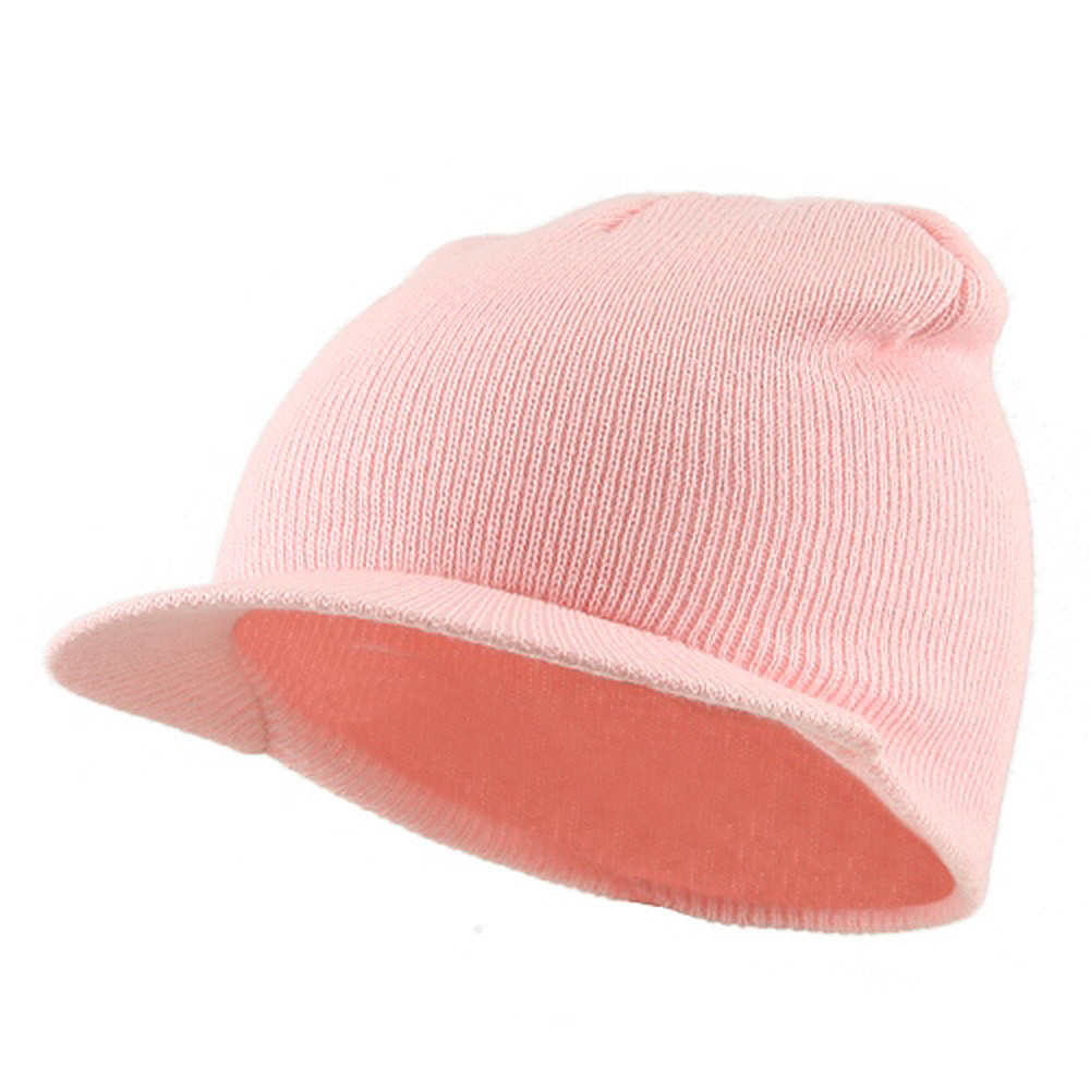 Cuffless Beanie Sports Visor-Pink - Hats and Caps Online Shop - Hip Head Gear