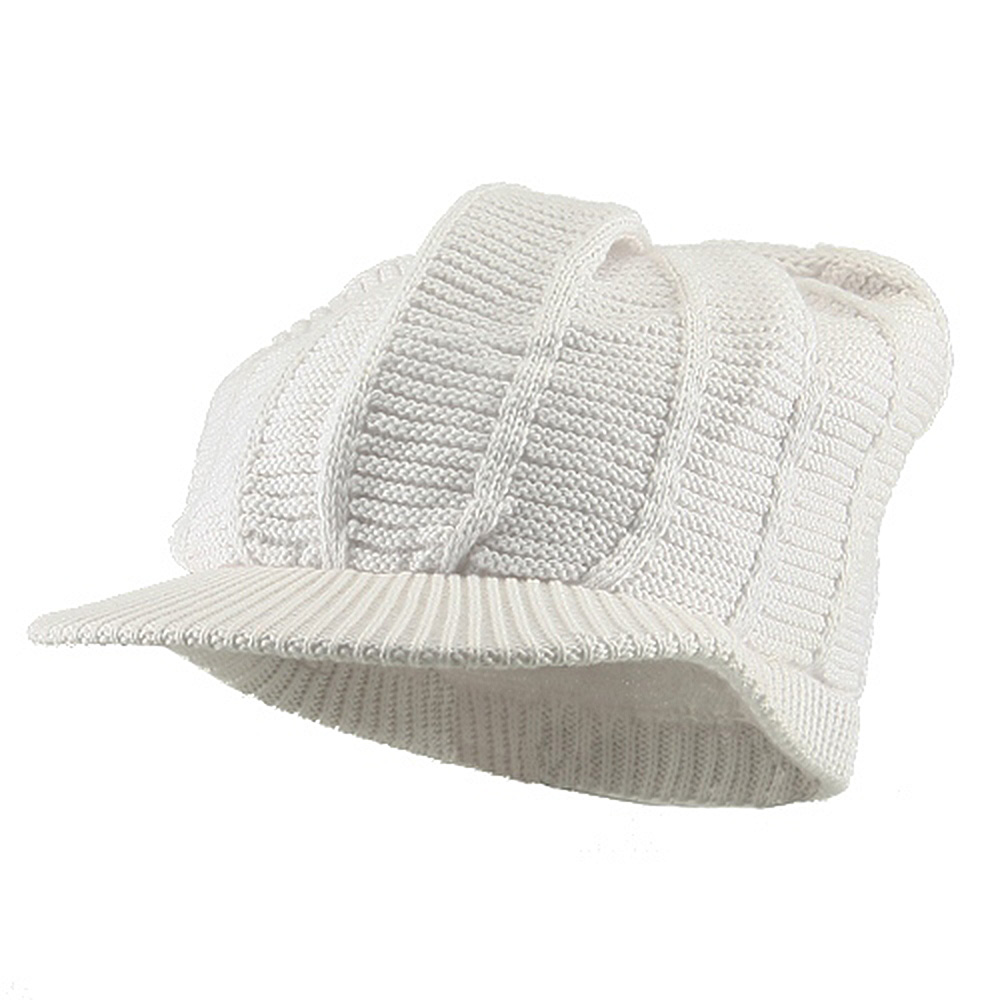 New Rasta 93 RGY Visor Hat - White - Hats and Caps Online Shop - Hip Head Gear