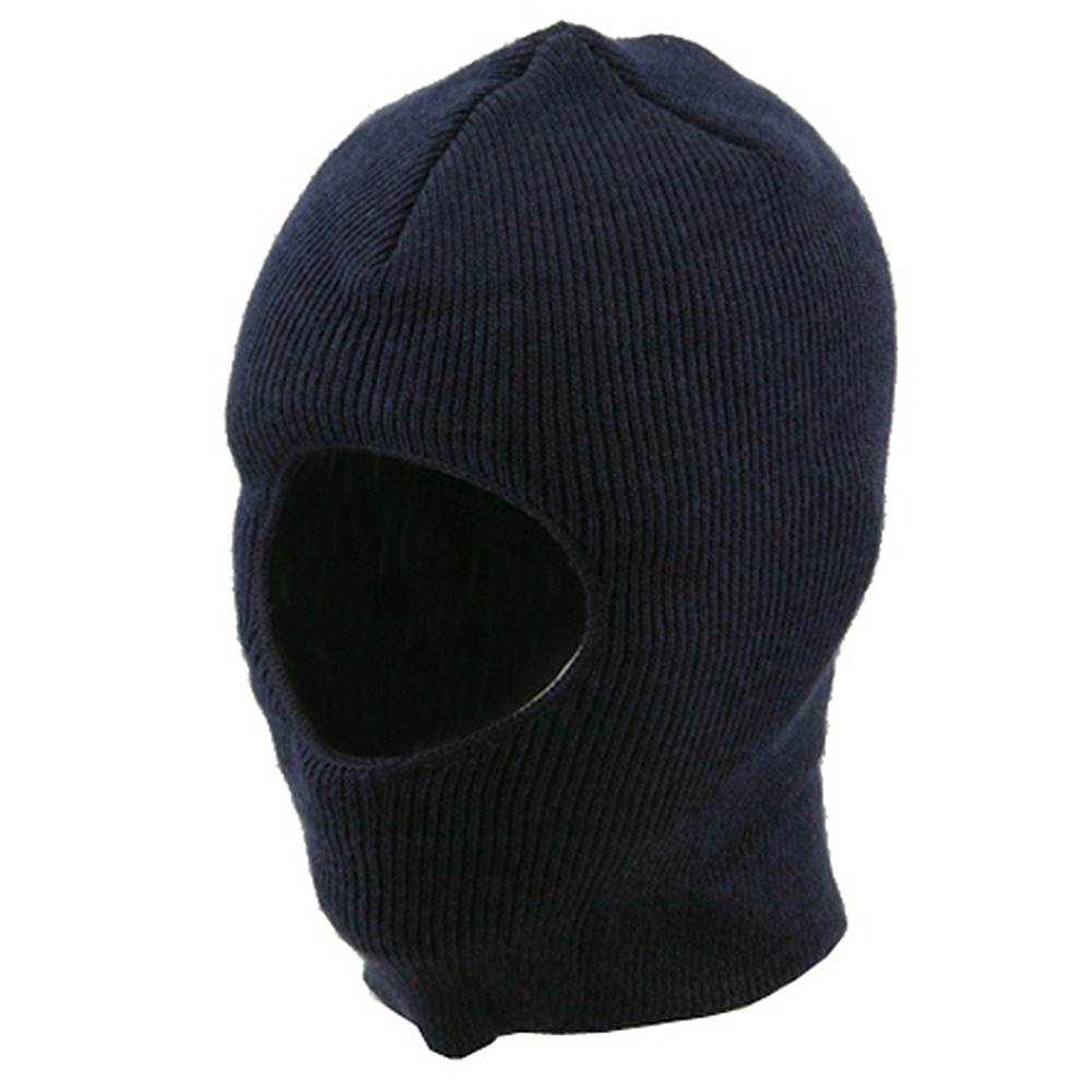 One Hole Child Face Mask  - Navy - Hats and Caps Online Shop - Hip Head Gear