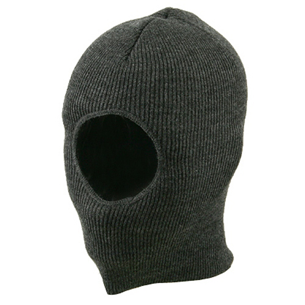 One Hole Child Face Mask - Charcoal - Hats and Caps Online Shop - Hip Head Gear