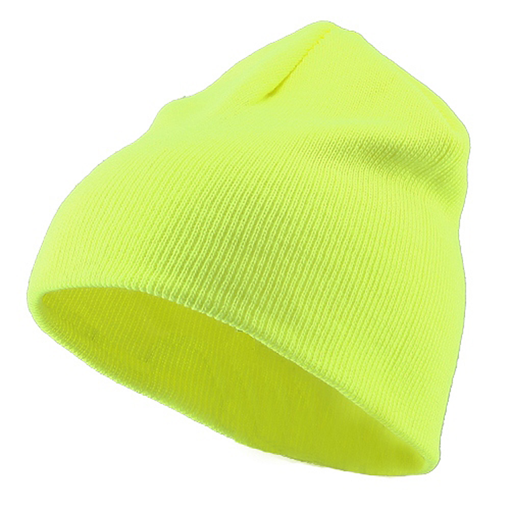 Classic Safety Short Beanie - Yellow - Hats and Caps Online Shop - Hip Head Gear