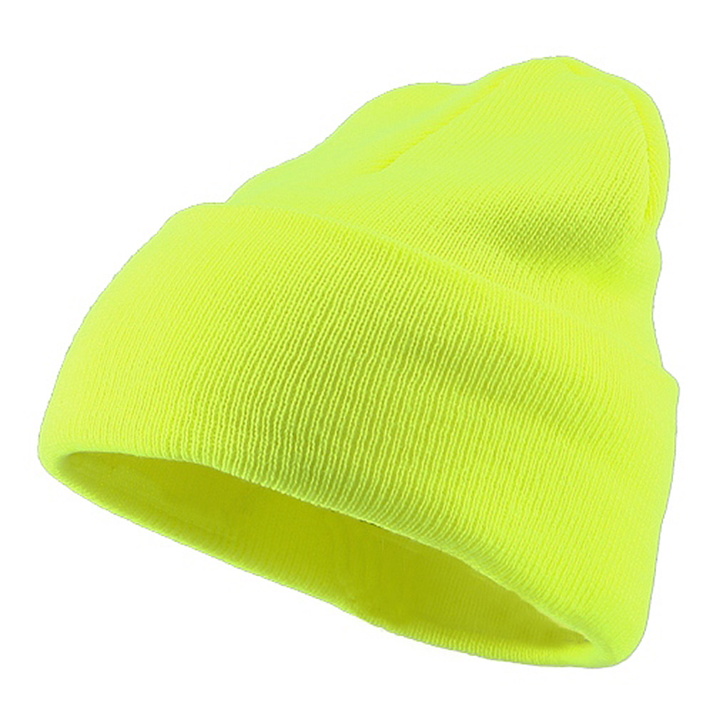 Classic Safety Cuff Beanie - Safety Yellow - Hats and Caps Online Shop - Hip Head Gear