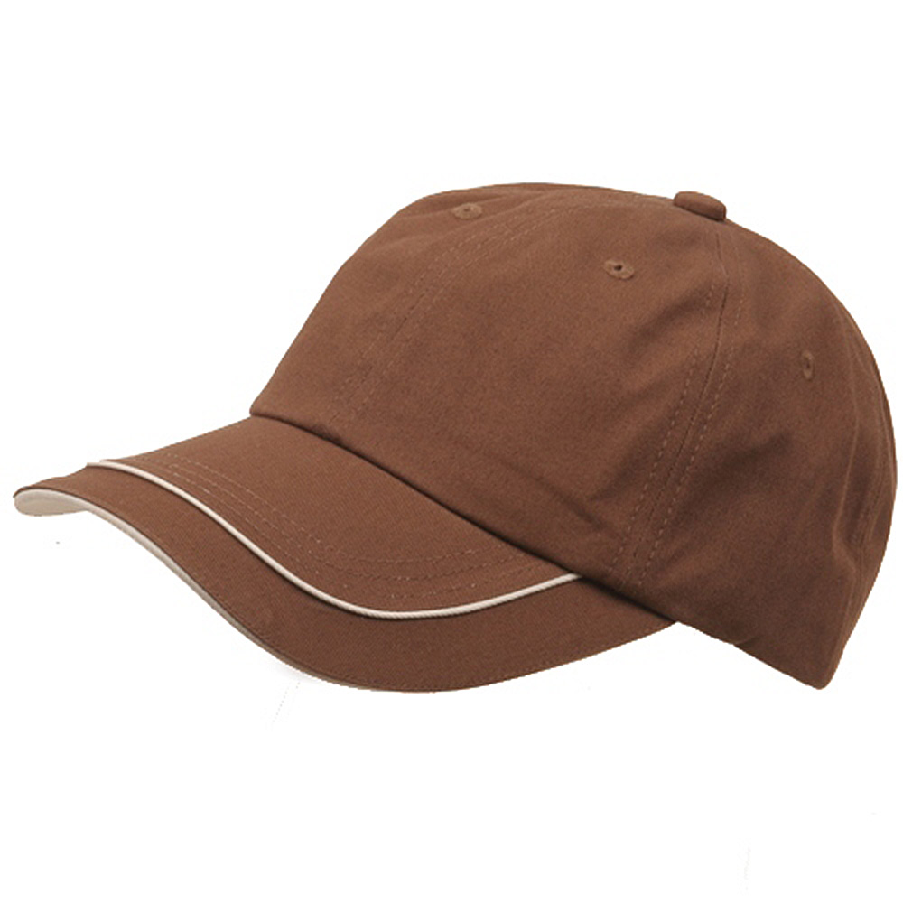 Deluxe Long Bill Cap-Brown