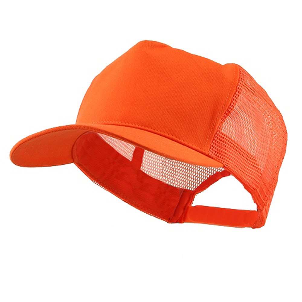 Prostyle Cotton Twill Mesh Cap - Orange