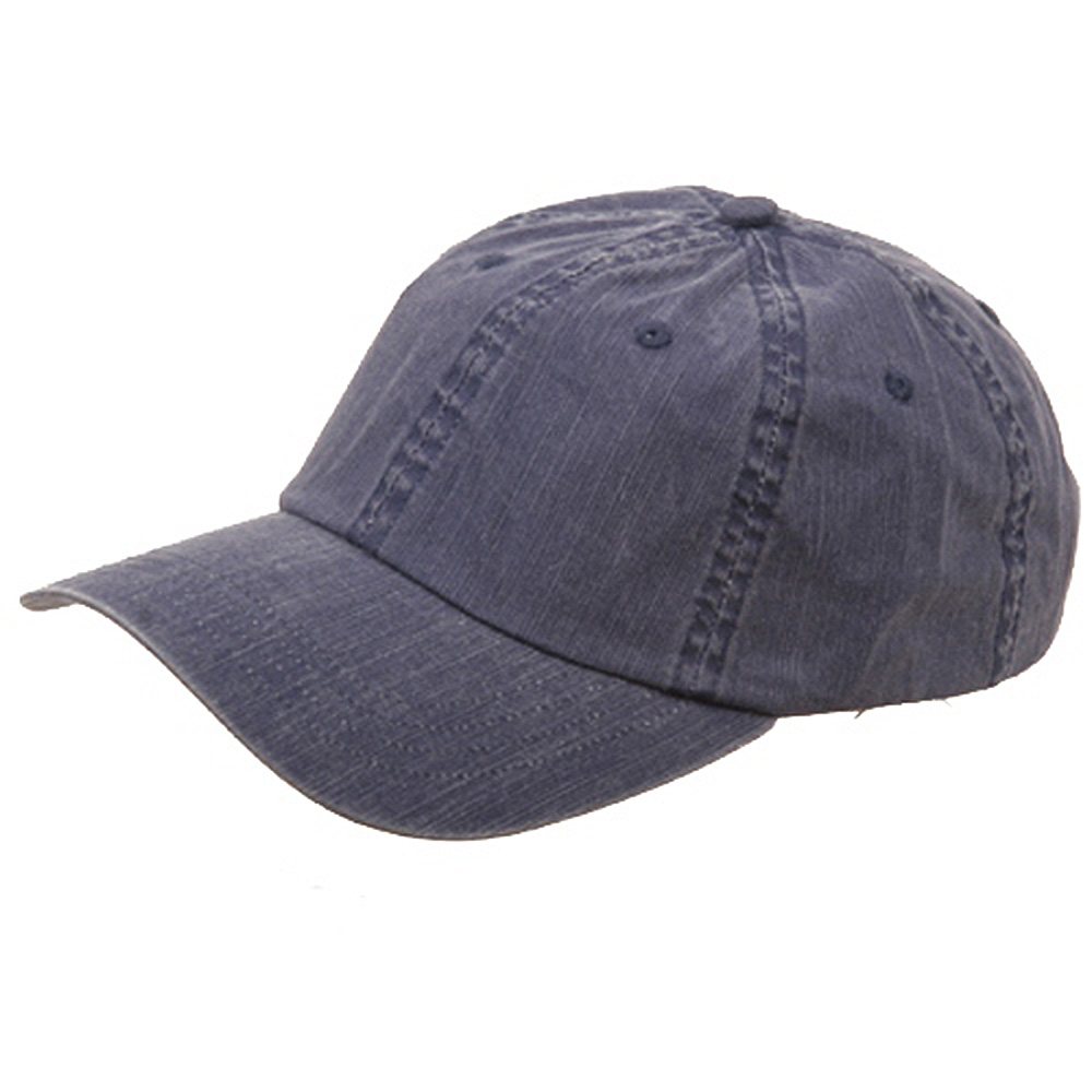 Pigment Dyed Special Cotton Cap-Navy