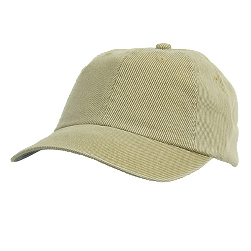 Corduroy Cotton Washed Cap-Khaki