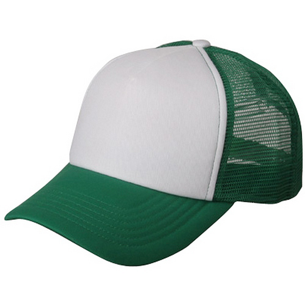 Cotton Trucker Cap-Kelly Green - Hats and Caps Online Shop - Hip Head Gear