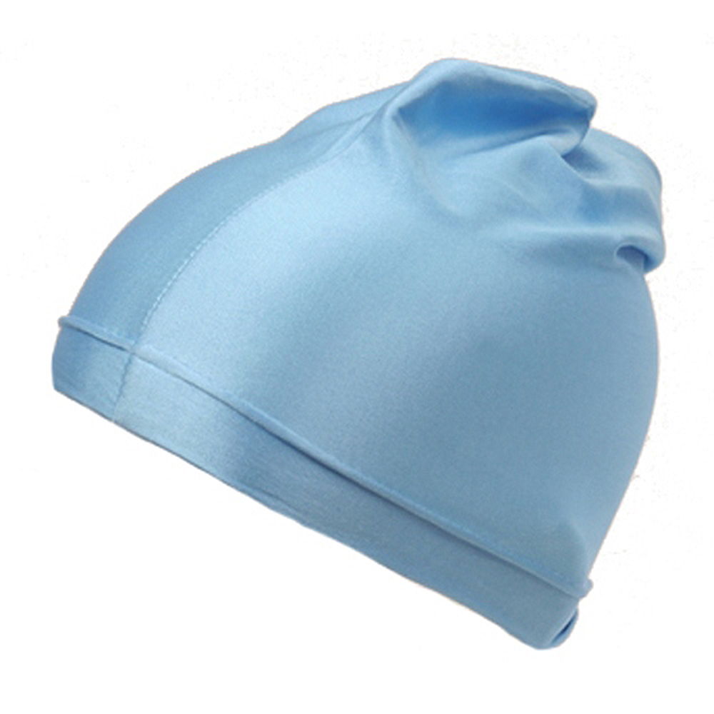 Plain Spandex Skull Cap-Sky - Hats and Caps Online Shop - Hip Head Gear