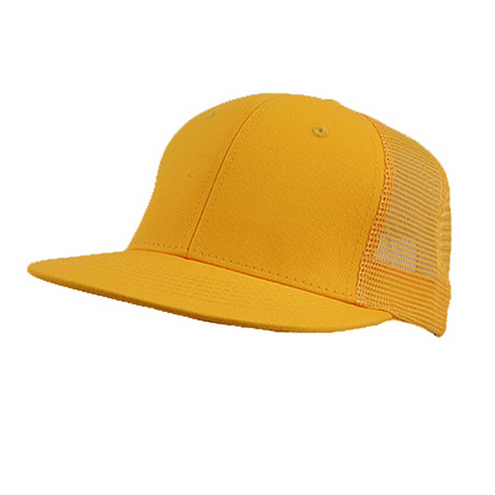 Cotton Mesh Cap-Yellow - Hats and Caps Online Shop - Hip Head Gear