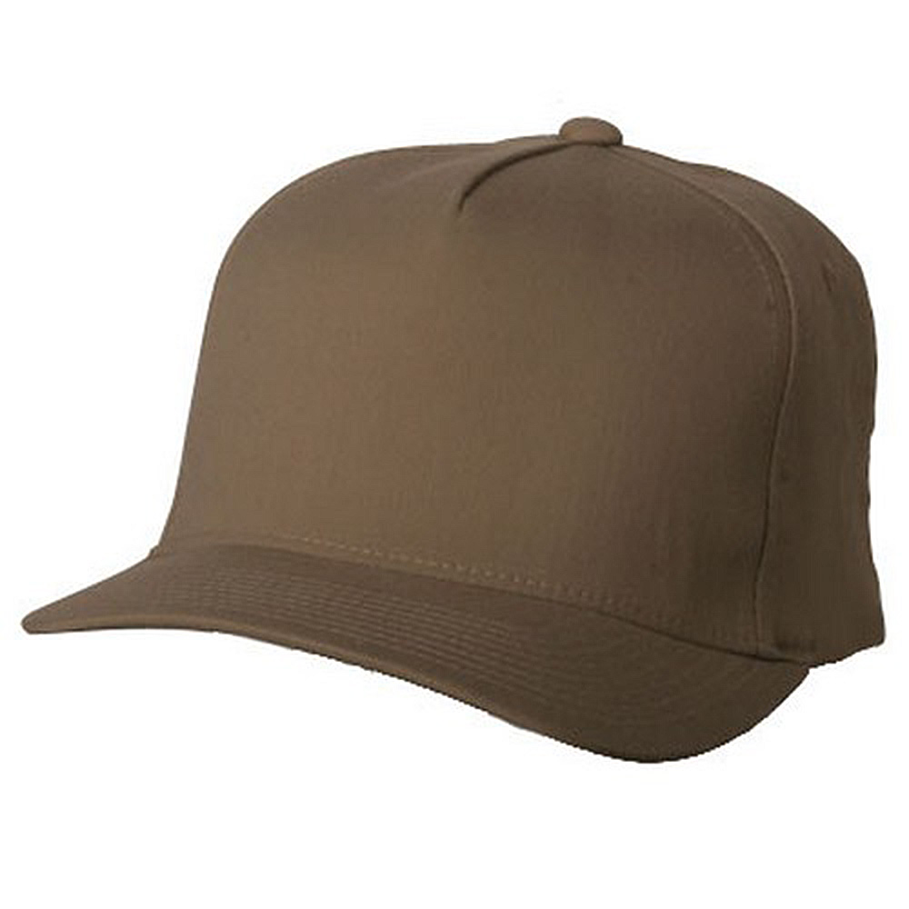 5 Panel Flexfit Cap-Khaki - Hats and Caps Online Shop - Hip Head Gear