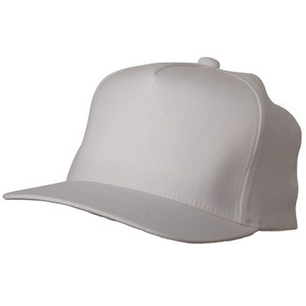 5 Panel Flexfit  Cap-White - Hats and Caps Online Shop - Hip Head Gear