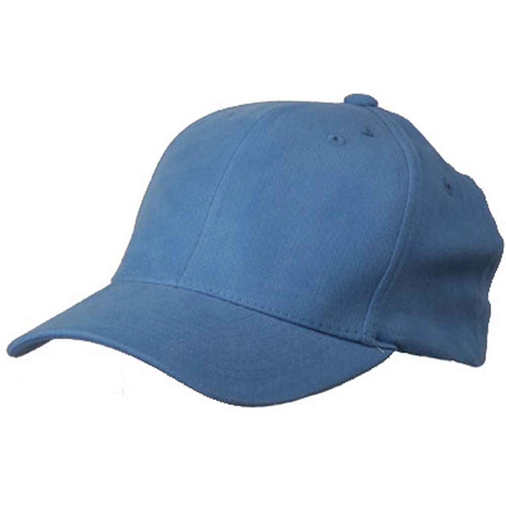 Brushed Cotton Cap (one size)-Blue - Hats and Caps Online Shop - Hip Head Gear