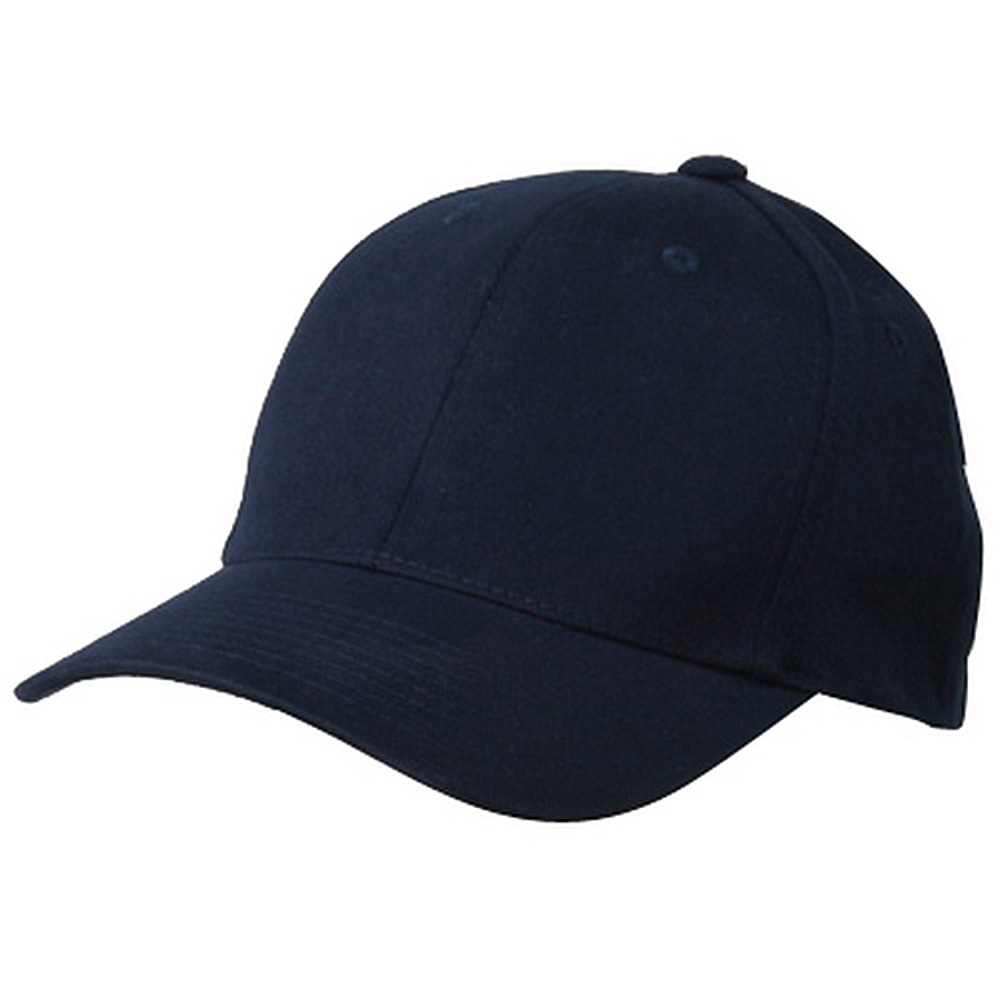 Brushed Cotton Caps (one size)-Navy - Hats and Caps Online Shop - Hip Head Gear