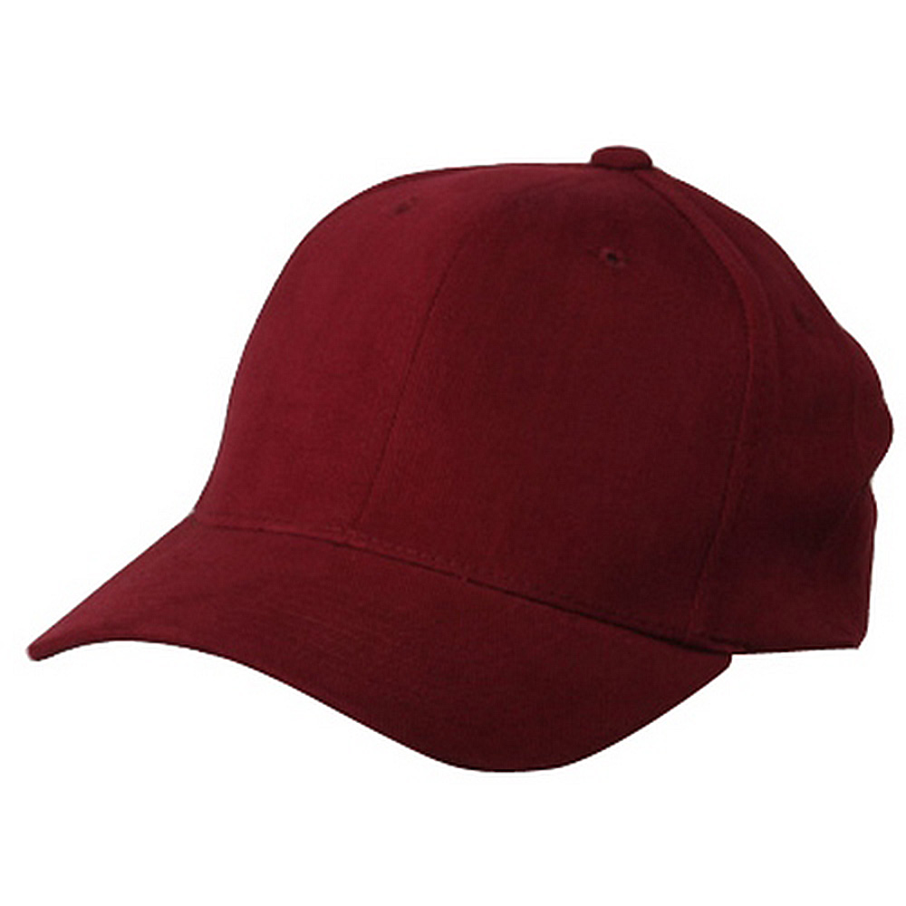Brushed Cotton Caps (one size)-Maroon - Hats and Caps Online Shop - Hip Head Gear