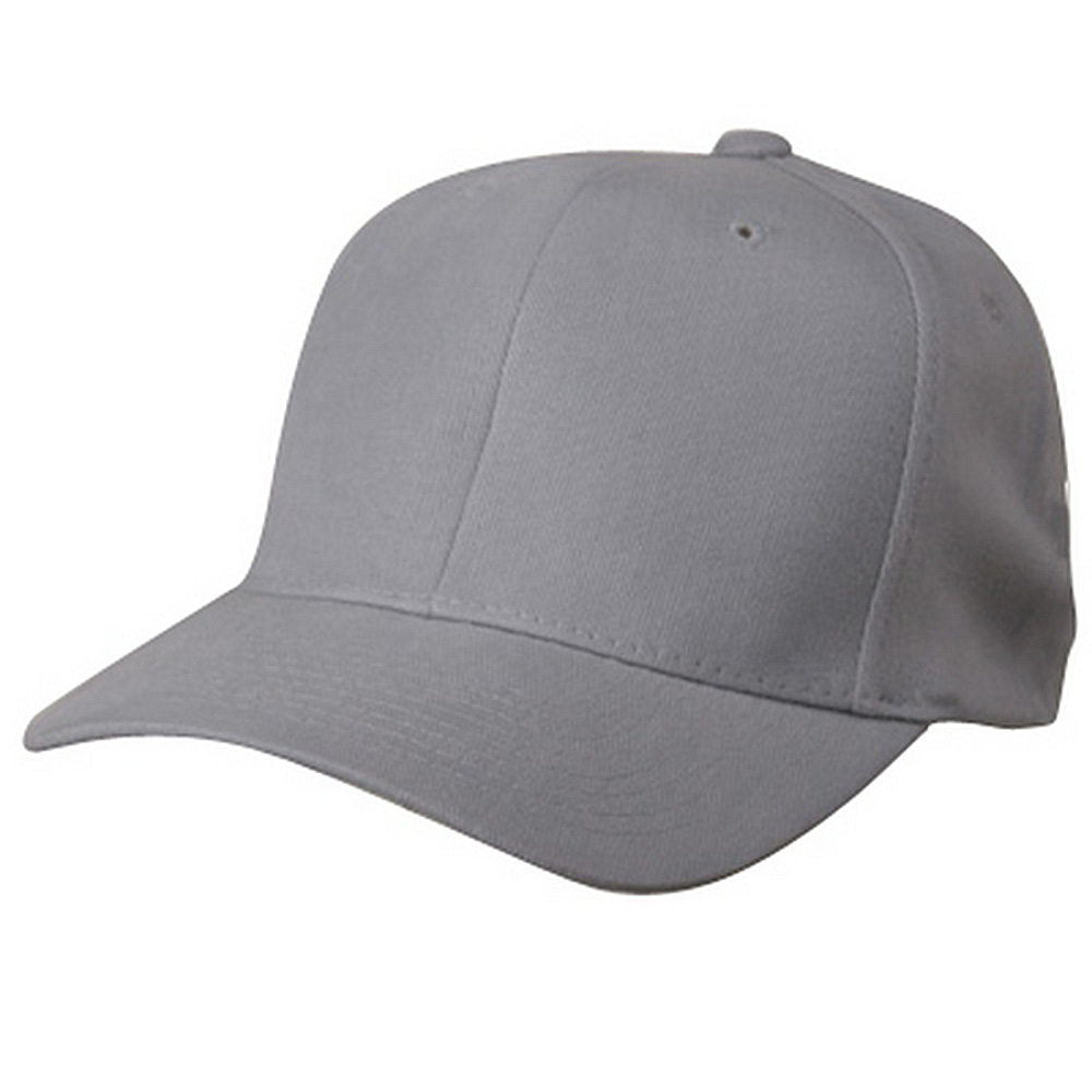 Brushed Cotton Cap (one size)- Lt Grey - Hats and Caps Online Shop - Hip Head Gear
