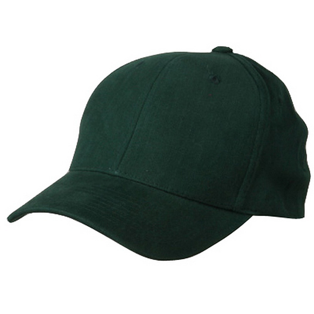 Brushed Cotton Cap (one size)-Forest Green - Hats and Caps Online Shop - Hip Head Gear