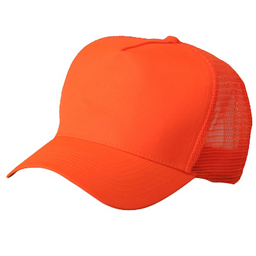 5 Panel High Visilbility Mesh Cap-Neon Orange - Hats and Caps Online Shop - Hip Head Gear