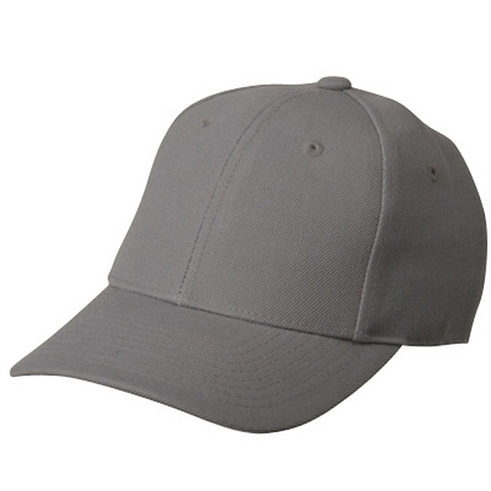 Fitted Cap-Grey - Hats and Caps Online Shop - Hip Head Gear