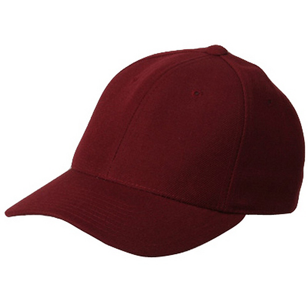 Fitted Cap-Maroon - Hats and Caps Online Shop - Hip Head Gear